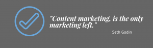 Content marketing, is the only marketing left.-